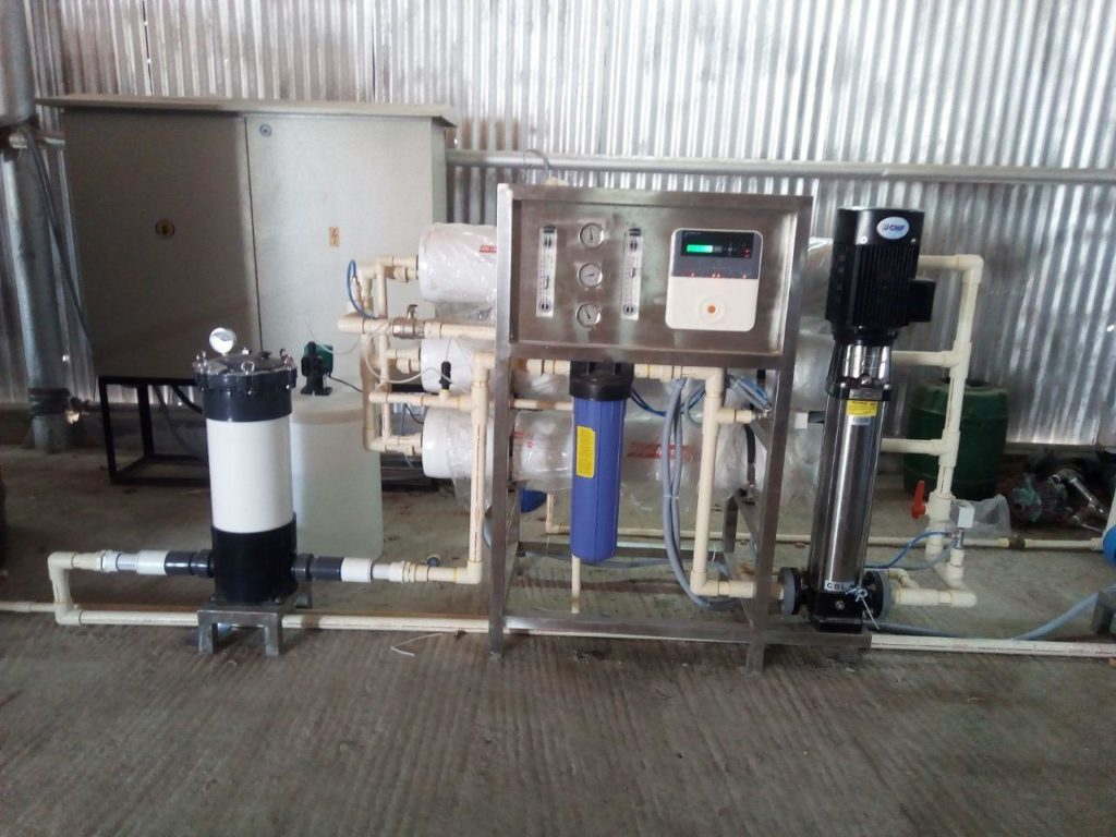 1000LPH Commercial RO Plant