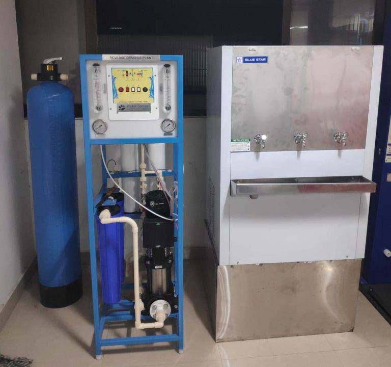 500 lpd commercial ro plant