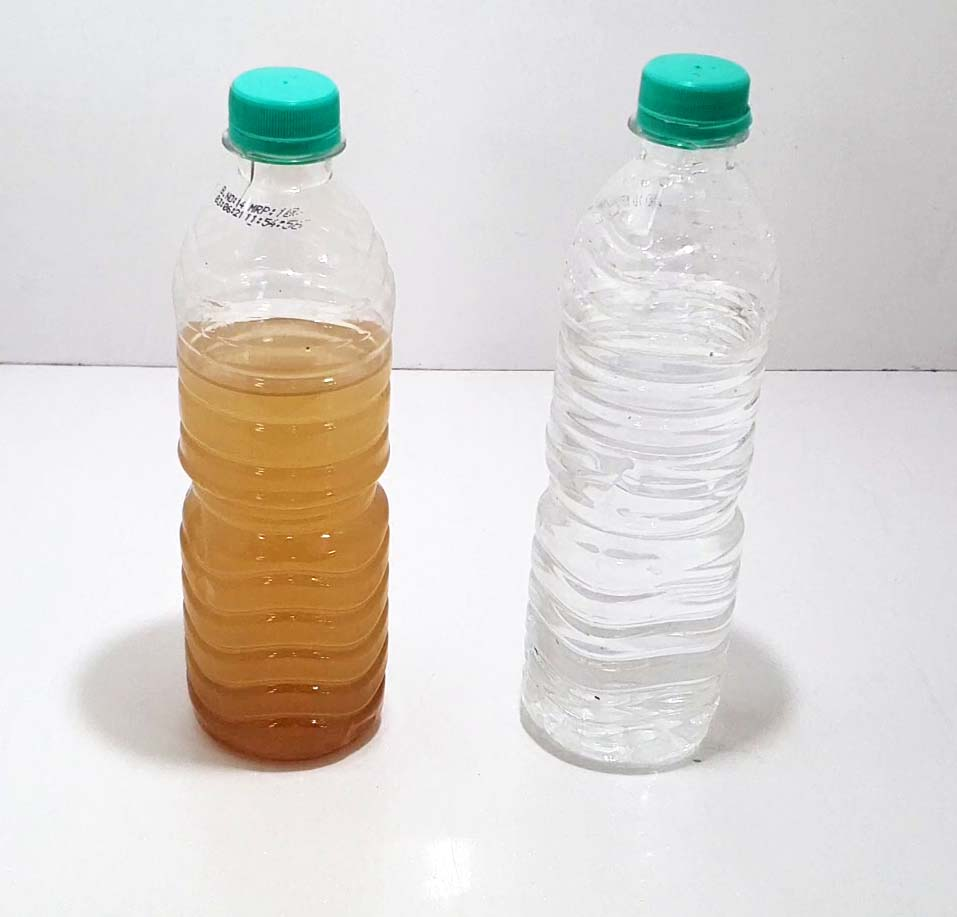 Before and After of Water
